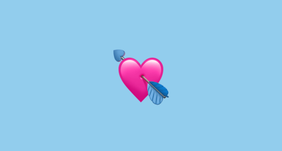 Cute Love Hearts Wallpapers Heart With Arrow Emoji