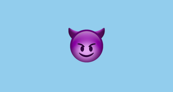 Galaxy S4 Fall Wallpaper Smiling Face With Horns Emoji