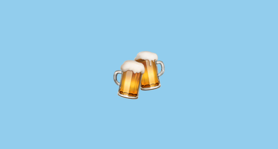 3d Moving Wallpaper For Windows 8 Clinking Beer Mugs Emoji