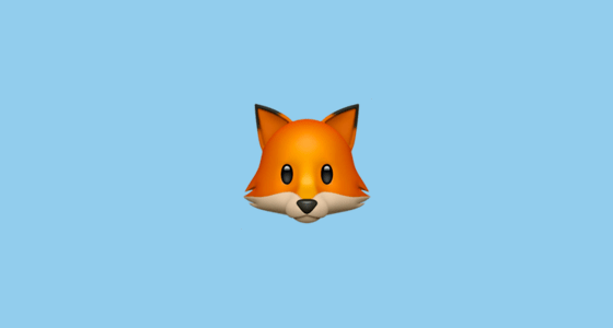 Cat In Fall Wallpaper White Fox Face Emoji