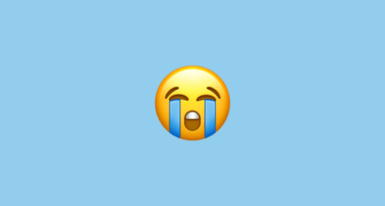 Iphone Ios 7 Animated Wallpaper Loudly Crying Face Emoji