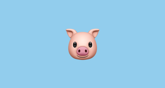 Iphone 4 Cute Wallpaper Pig Face Emoji