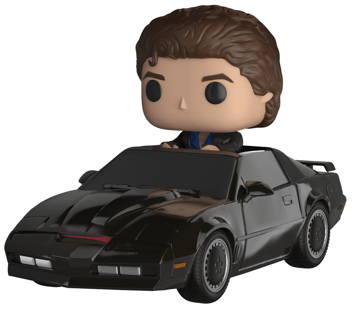 Knight Rider Bettwäsche Knight Rider Michael Knight With Kitt Pop Ride Vinyl
