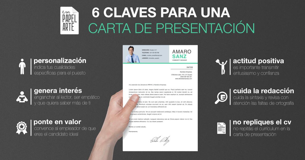6 Claves para una Carta de Presentación Empapelarte