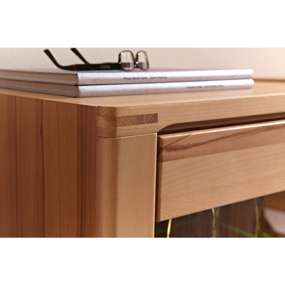 Highboard Kernbuche Teilmassiv Highboard Aus Kernbuche Online Kaufen | Empinio24