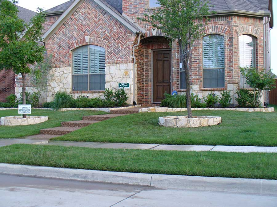 Flagstone Patio Residential Hardscape Services - Empire Landscaping