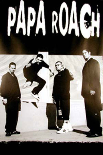 Country Küche Weiss Papa Roach - Band - Poster - 61x91,5