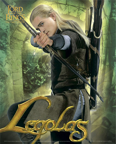 Küche Gastronomie Kaufen Lord Of The Rings - 3 Legolas Bow & Arrow - Mini-poster