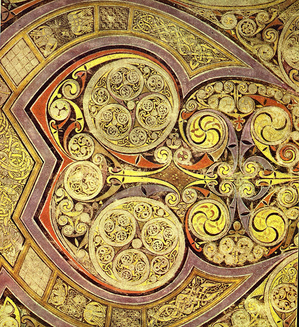 celtic art book of kells things celtic chi rho bowls jpg 616 675 states universe kells