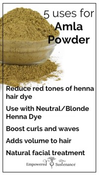5 Amla Powder Uses for Stunning Hair and Skin
