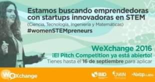 WeXchange el concurso que busca emprendedoras innovadoras