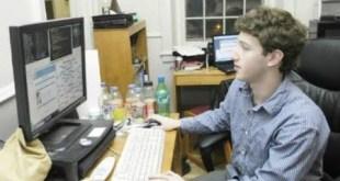 El joven Mark Zuckerberg