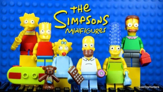 6pcs-The-font-b-Simpsons-b-font-Family-Series-Anime-Movie-Building-Blocks-font-b-Homer