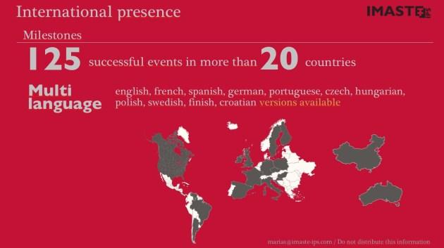 International presence. VC pitch
