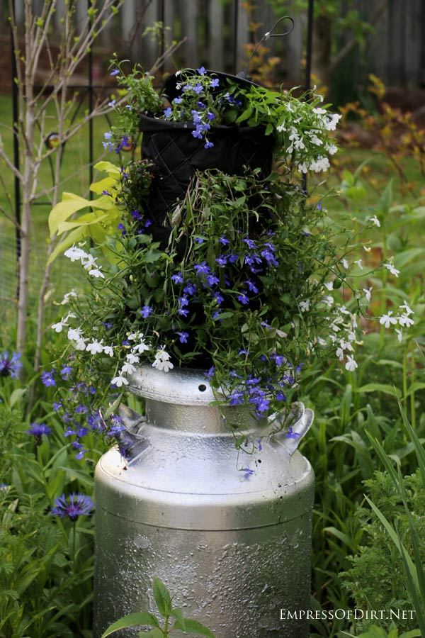 30 Flower Container Ideas to Make Your Garden Wonderful - Empress - container garden design ideas