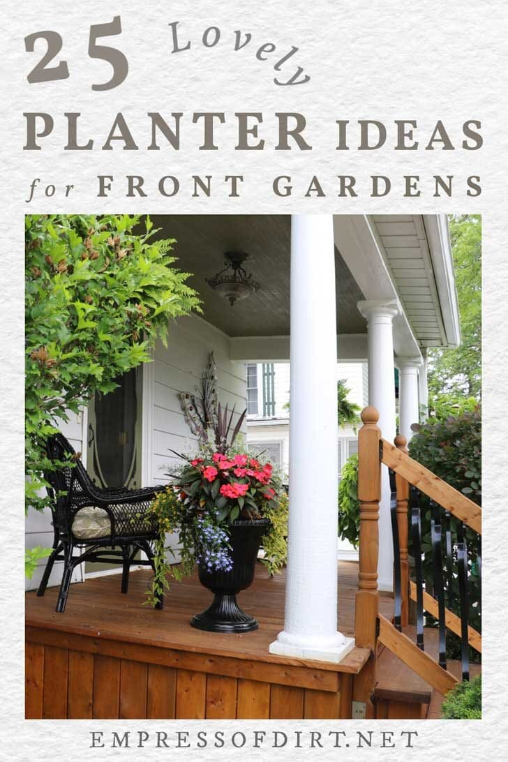 25 Planter Ideas For Porches And Front Gardens