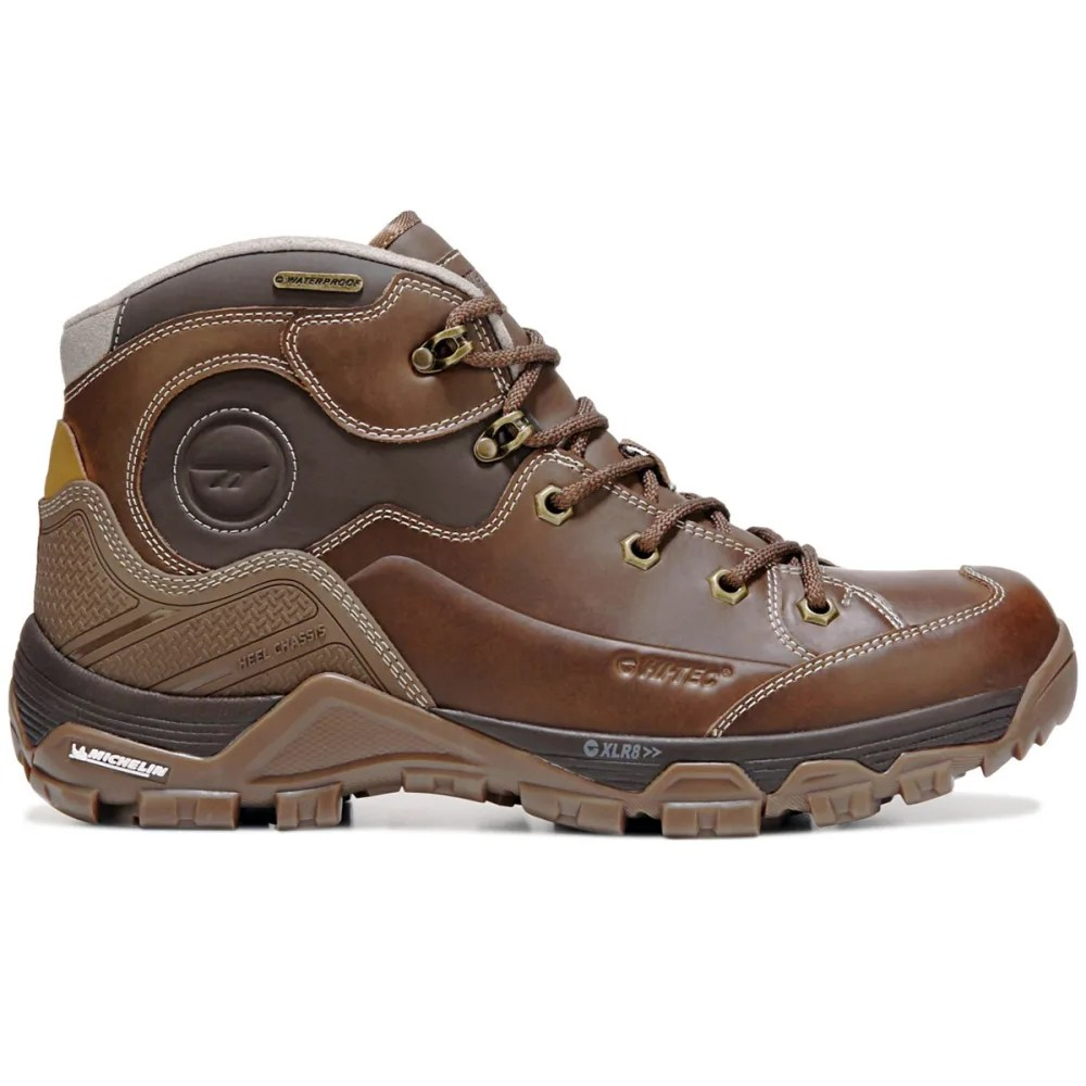 Hi Tec Com Hi Tec Men S Ox Discovery Mid I Waterproof Hiking Boots