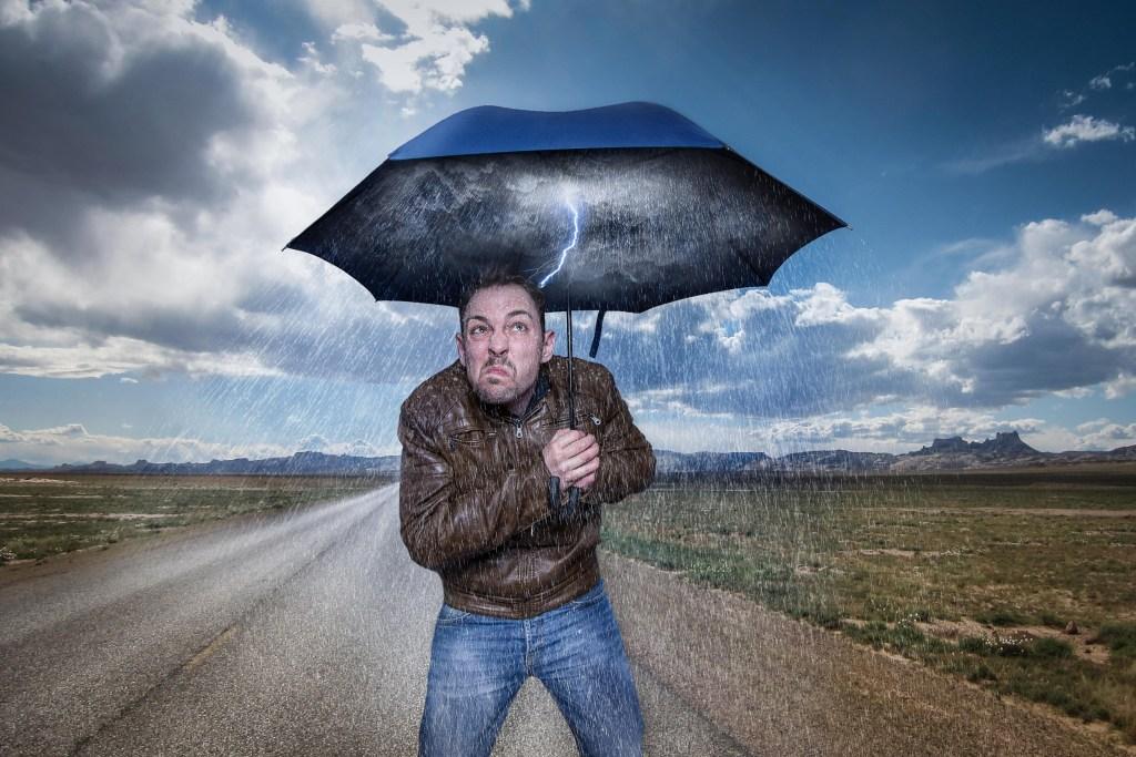Regenschirm EmsAttack Blog