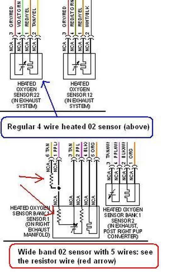 2 wire o2 sensor wiring diagram