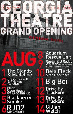 GA Theatre Grand Opening