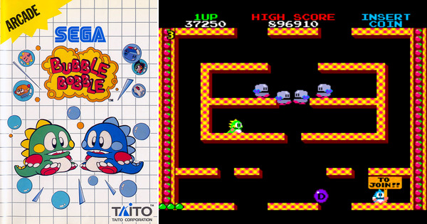 Wolf System Play Bubble Bobble On Master System