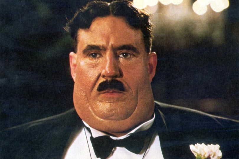Mr Creosote ...it's only wafffer thin!