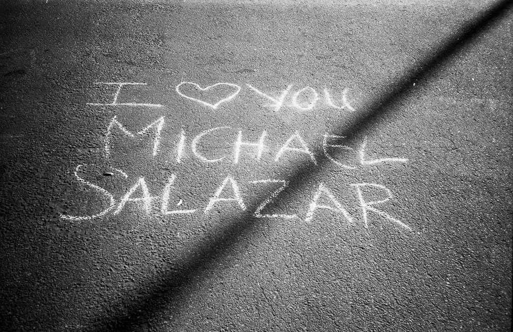 I Heart You Michael Salazar | Arista Premium 400 ISO + Minolta AF50