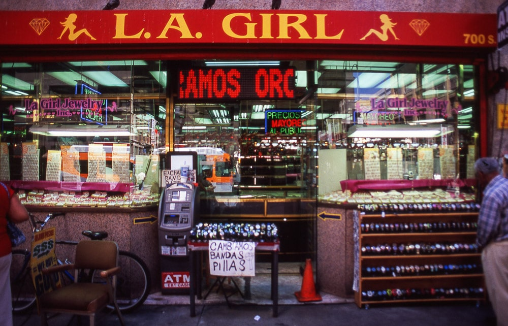 L.A. Girl | Fujichrome Velvia Professional 100 + Olympus OM 1