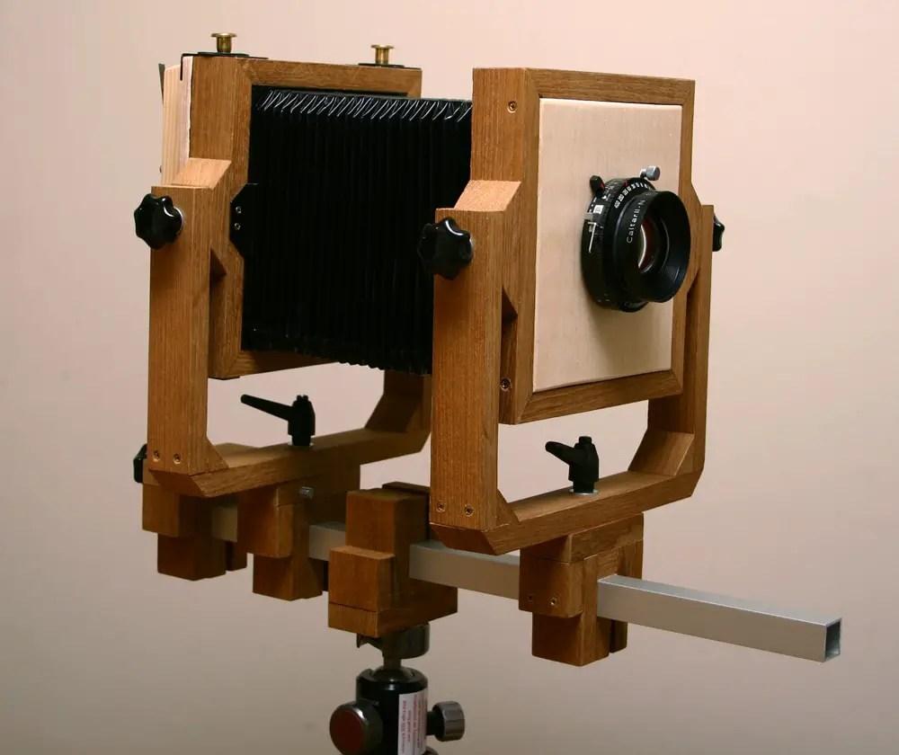 "Self-build 4x5"" Camera"
