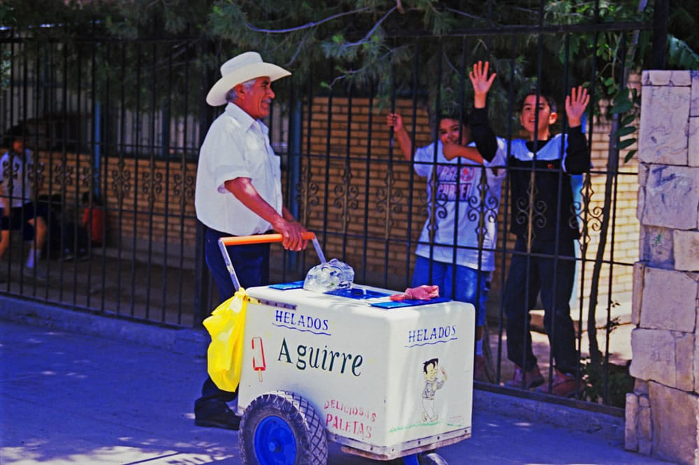 Ice Cream Vendor Coahuila - Kodachrome (2000)