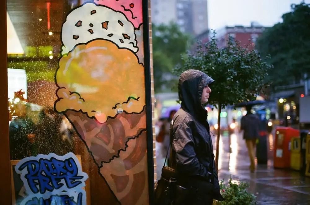"""Dairy Free"" - Kodak Ultramax 400 - St Marks, Manhattan, New York"