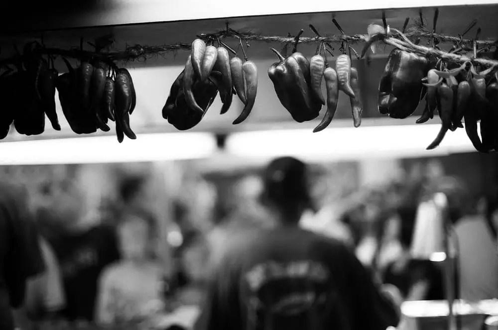 """""""Strewn"""" - Ilford Delta 100 - San Gennaro Feast, Manhattan, New York"""