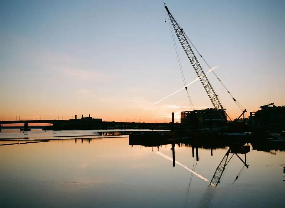 Southeast Waterfront, Washington D.C. Fuji GA645, Ektar 100.