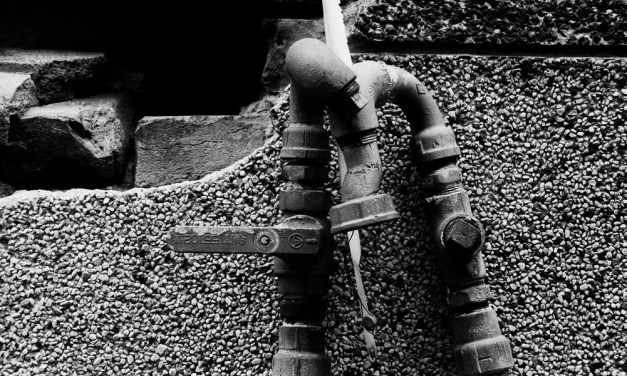 Pipes – Kodak Hawkeye Traffic Surveillance Black and White Film 2485 (35mm)