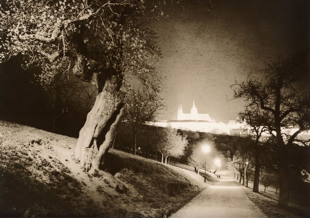 Magic Castle (darkroom print scan)