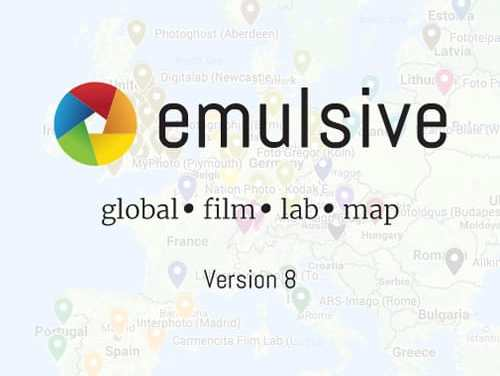 The EMULSIVE Global Film Lab Map (v8)