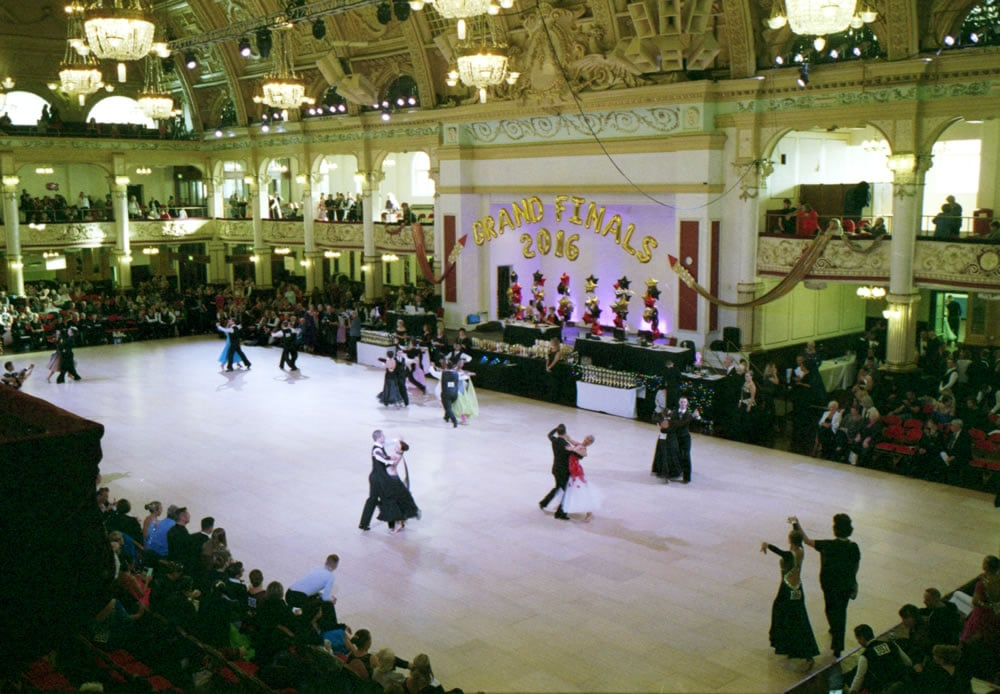 Ricoh GR1s - Ballroom dancing in Blackpool