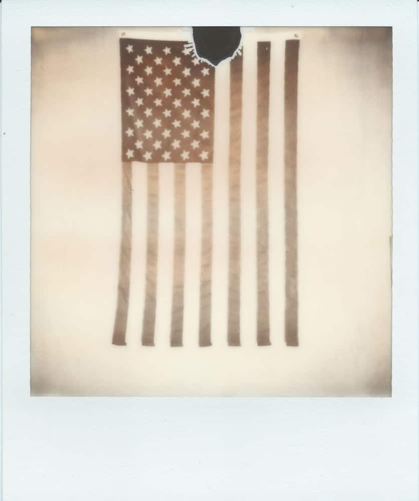 Faded Glory, Polaroid SX-70, Impossible Project BW