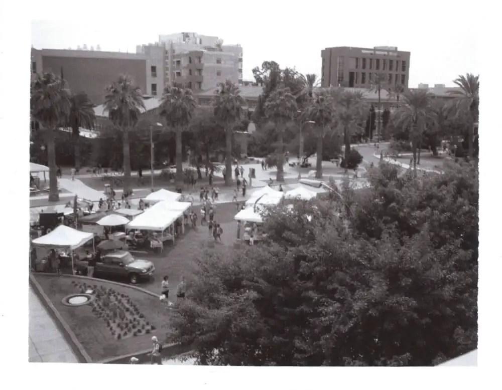 University of Arizona Mall, Polaroid Automatic 100 Land Camera, Type 667 Packfilm