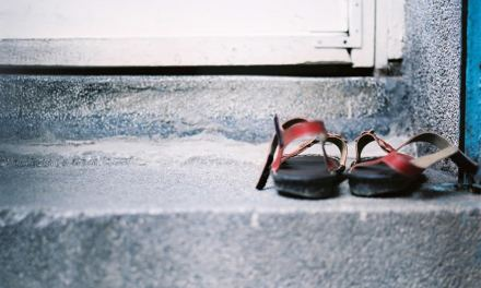 Shoes off at the door please – Fuji Pro 400H (120)