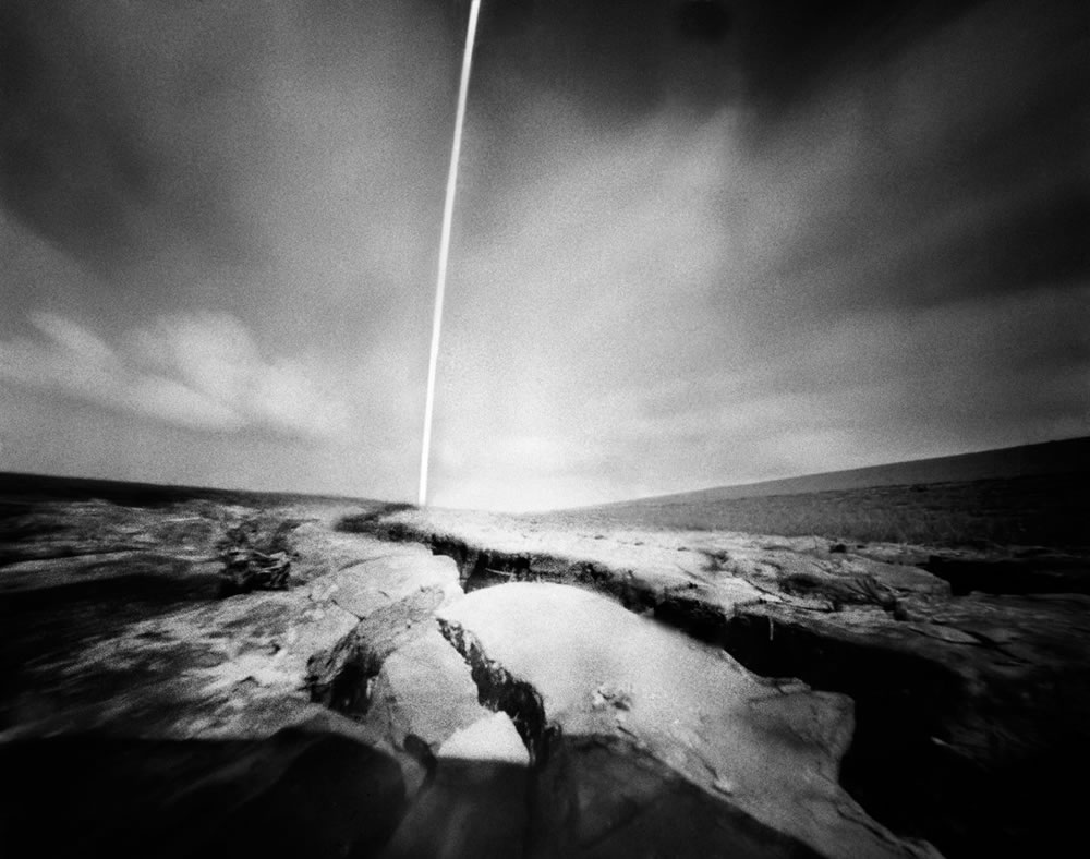 Corine Hörmann - ‏@PinholePhotos Another new image. Sea clay at the salt marsh. From the Wadden Sea series. - #FP4Party #pinhole #fineartphotography #filmphotography #emulsive