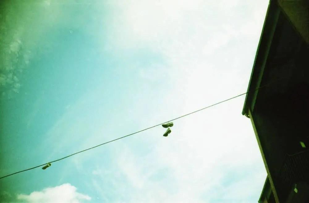 Dublin - Lomo LC-A - Signs 2 - Unknown film