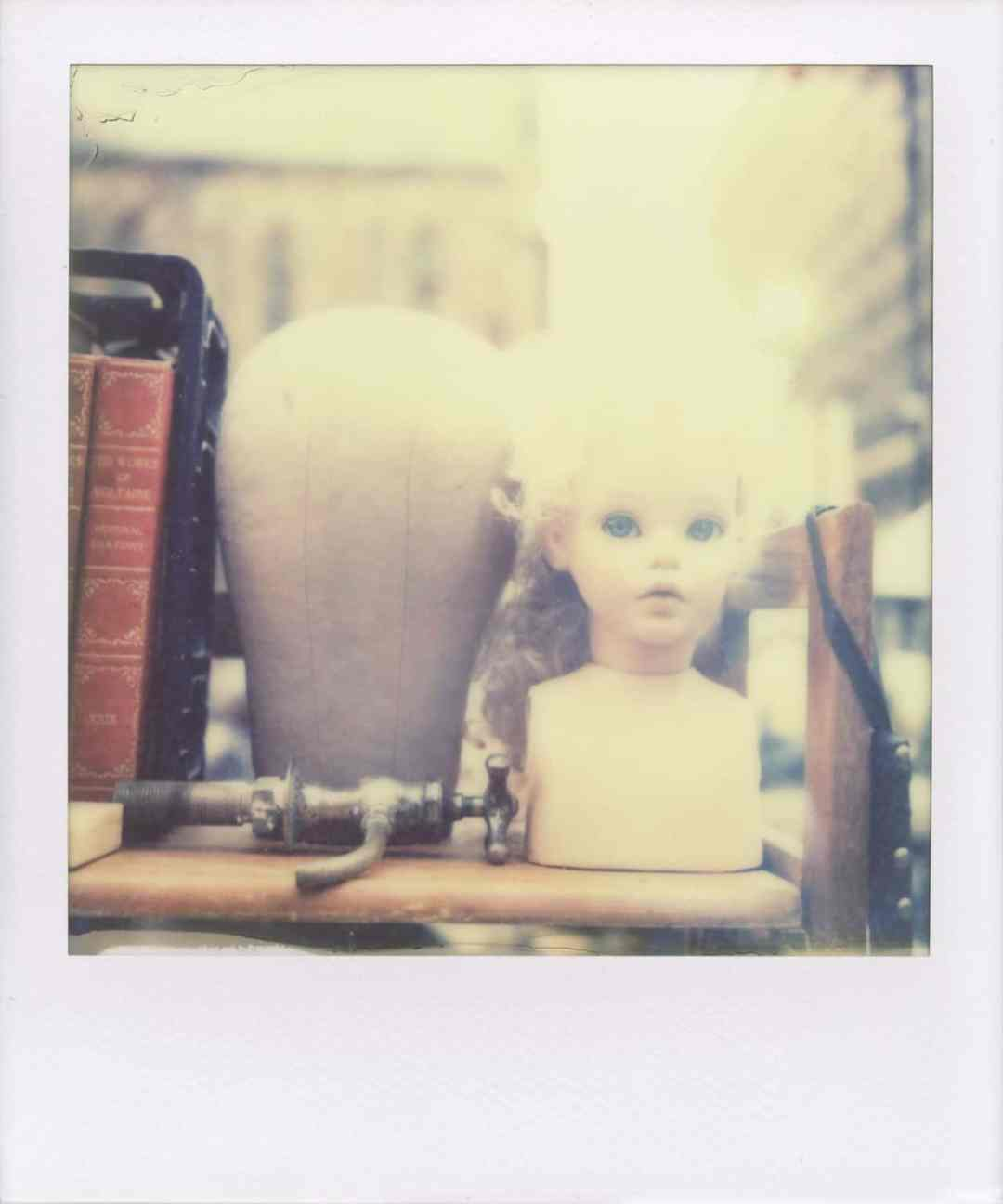 """Esther"" (NYC 2013) - Polaroid SX-70 Alpha 1 Land Camera and Impossible PX 70 Cool film"