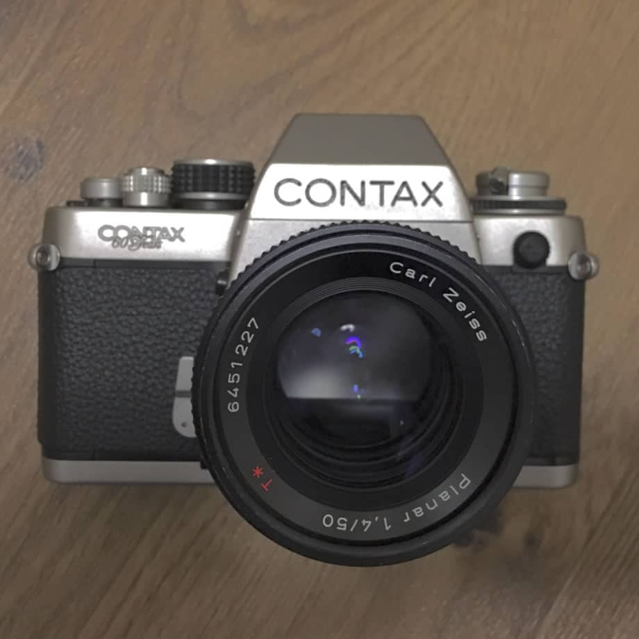 Contax S2 and Zeiss Planar 50mm f/1.4