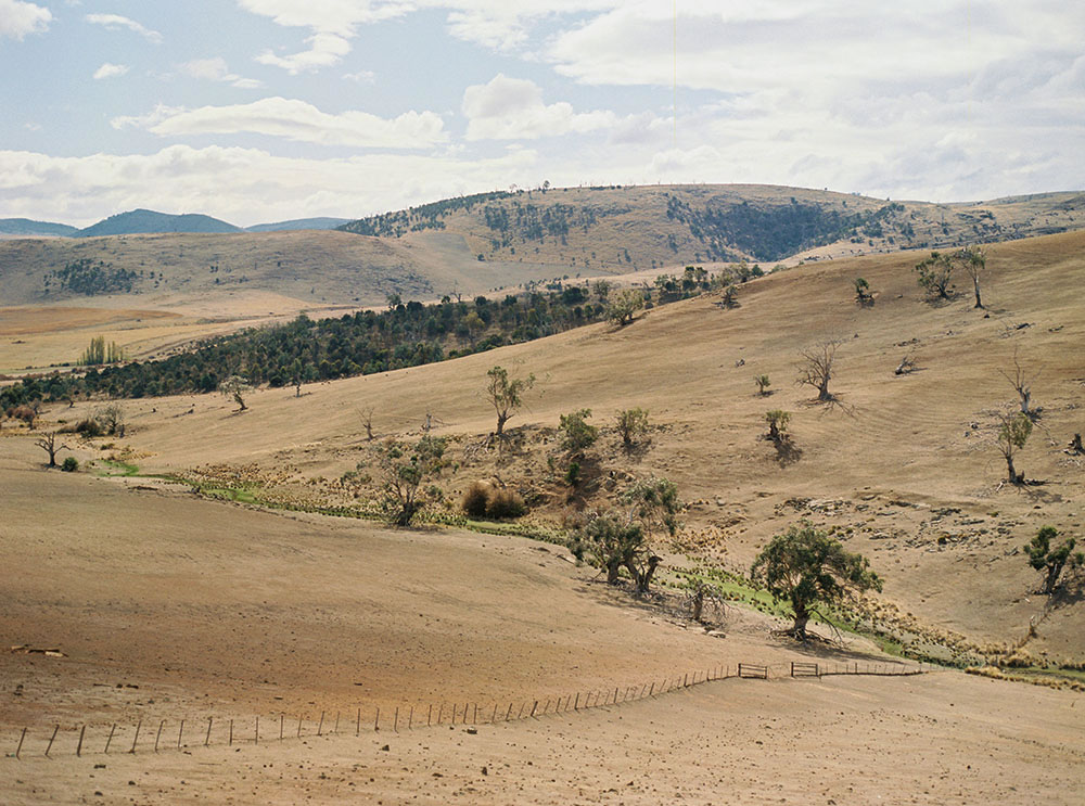 Tasmania Travelogue - Tasmanian hills.