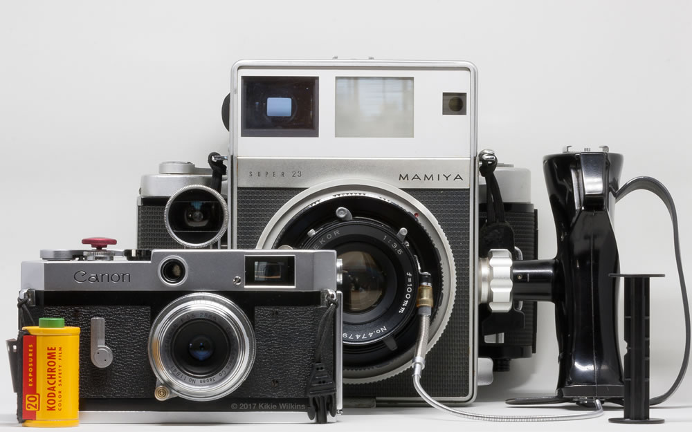 Camera review: Me and my Mamiya Press Super 23 and Mamiya Universal Press - by Kikie Wilkins