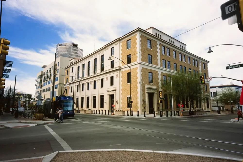 Old Federal Courthouse,Mamiya Super 23, f/6.3, Fuji Provia 100F