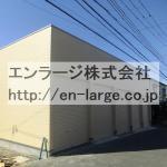 須山町シャッター付ガレージ倉庫・約4.23坪・間口約2.5m・奥行約5.6m J166-024B6-016