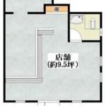 甲斐田東町店舗・事務所・倉庫・1F約9.31坪・トップワールド隣接♪ J166-024B6-021