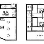 藤阪中町店舗付住宅・57.96㎡・以前は、理髪店が営業しておりました! J166-024F6-015
